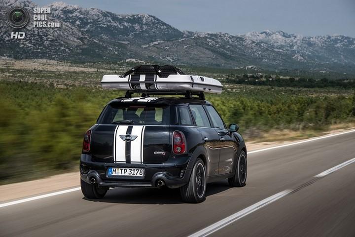 новый MINI Cooper S Countryman ALL4 Camp дом на колесах (15)