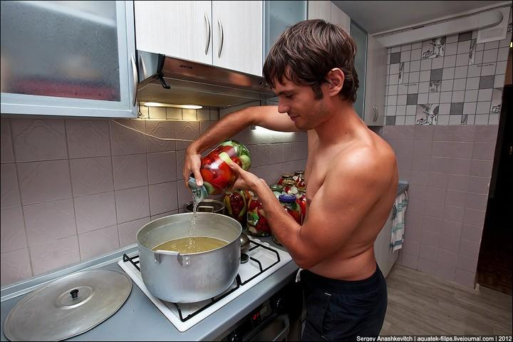 Как засолить помидоры, пошаговая инструкция с фото (15)