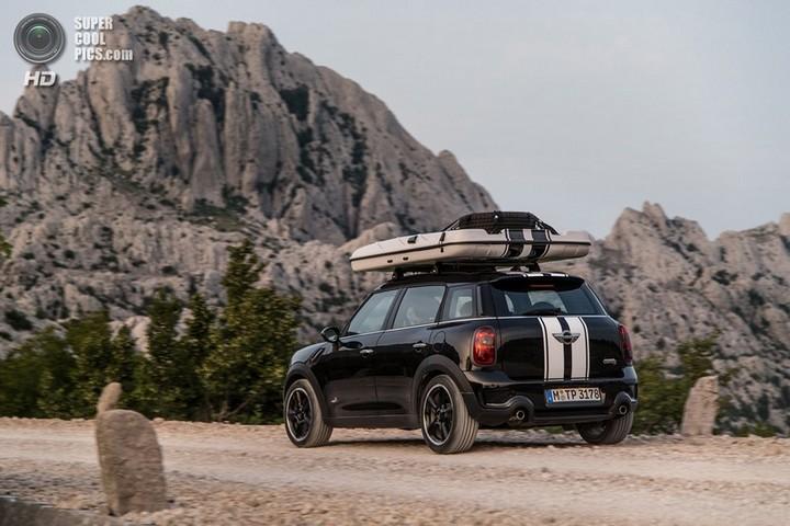 новый MINI Cooper S Countryman ALL4 Camp дом на колесах (16)