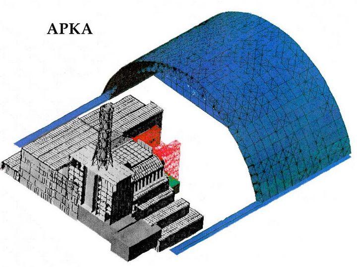 Фото Чернобыля сверху (17)