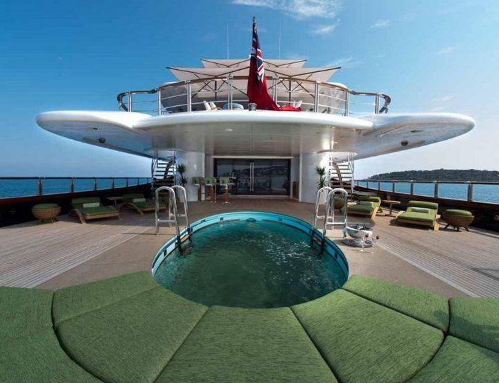 Самые дорогие и роскошные яхты в мире. Красивая яхта (18)