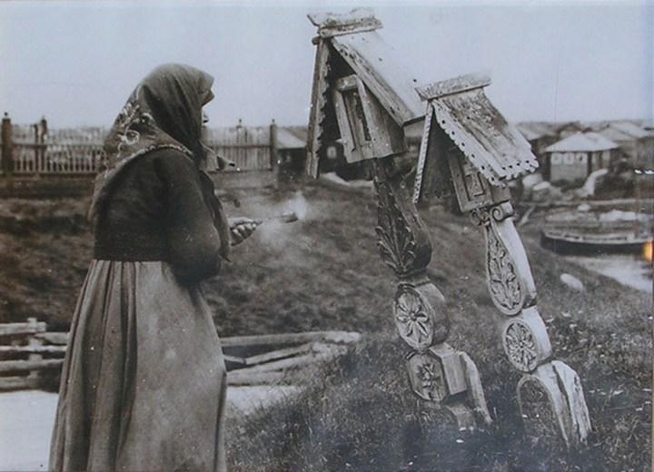 Старые ретро фотографии России, фото русских деревень и крестьян (19)