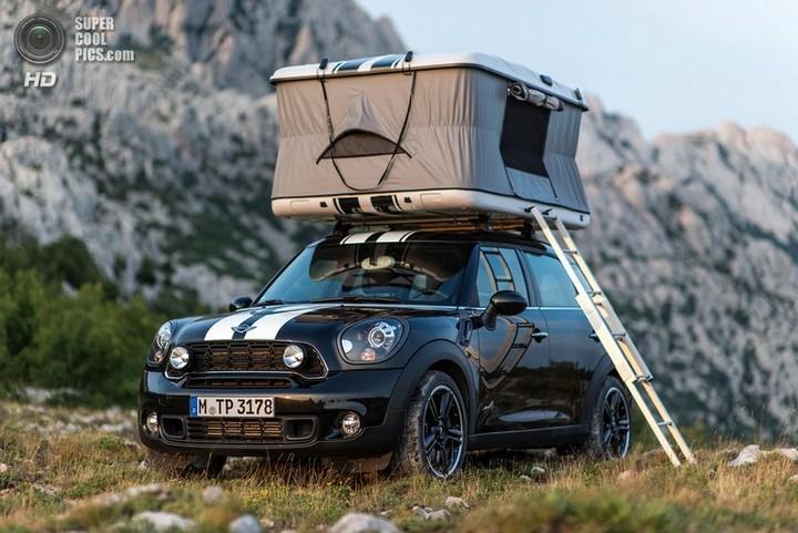 новый MINI Cooper S Countryman ALL4 Camp дом на колесах (21)