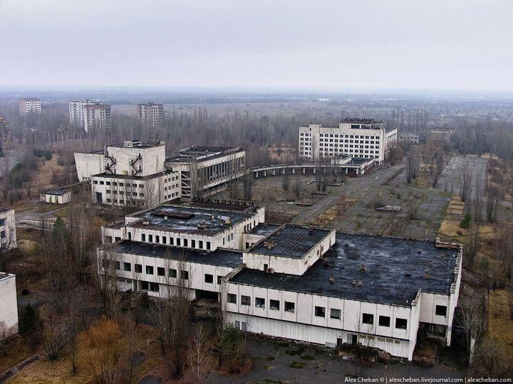Фото Чернобыля сверху (21)