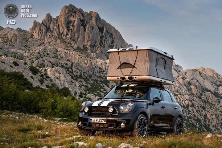 новый MINI Cooper S Countryman ALL4 Camp дом на колесах (22)
