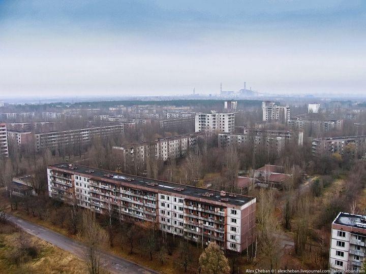 Фото Чернобыля сверху (22)