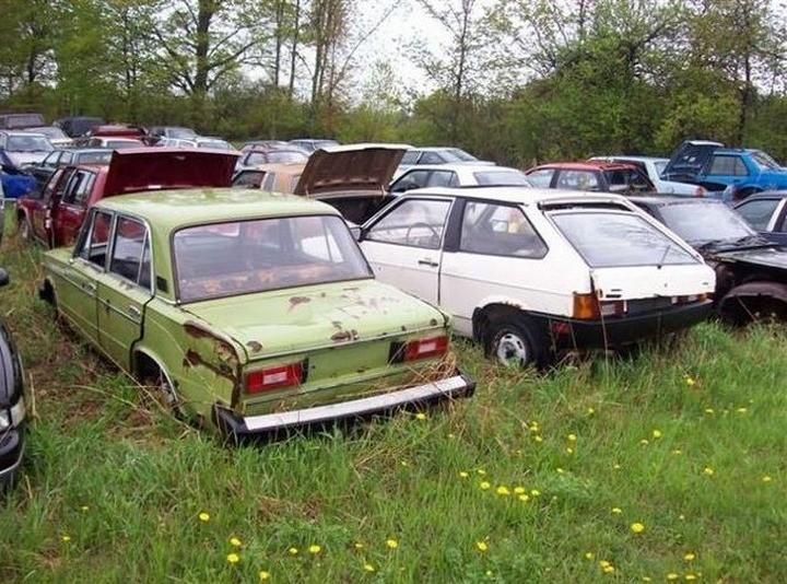 Русские машины на улицах Америки и Канады (23)