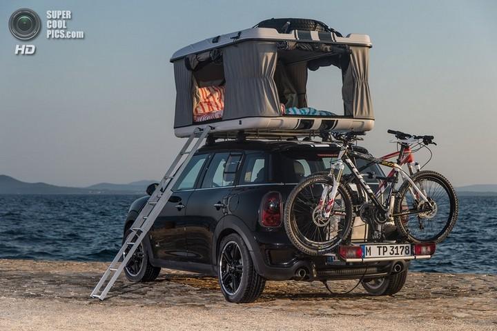 новый MINI Cooper S Countryman ALL4 Camp дом на колесах (24)