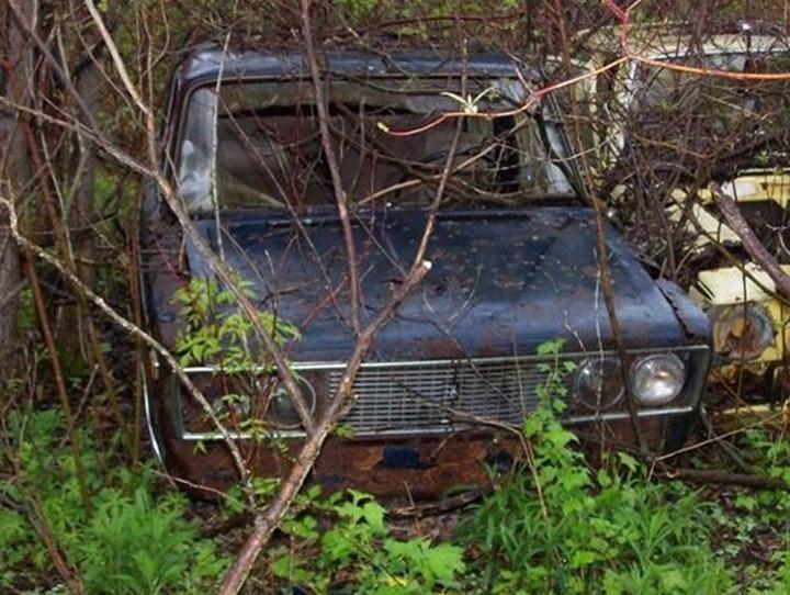 Русские машины на улицах Америки и Канады (24)