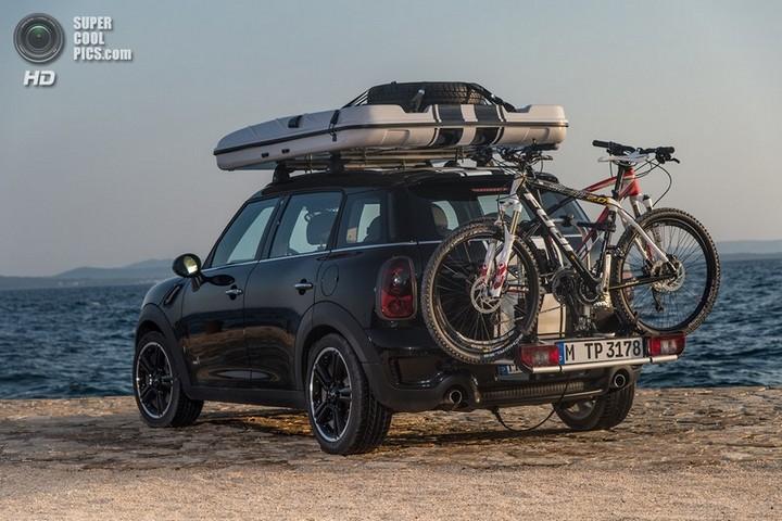 новый MINI Cooper S Countryman ALL4 Camp дом на колесах (25)