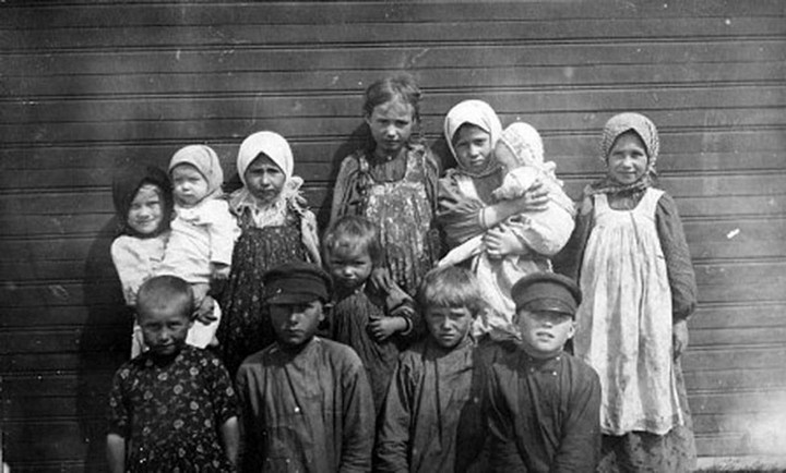 Старые ретро фотографии России, фото русских деревень и крестьян (26)