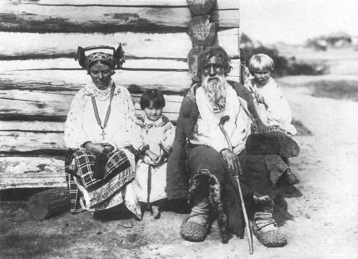 Старые ретро фотографии России, фото русских деревень и крестьян (28)