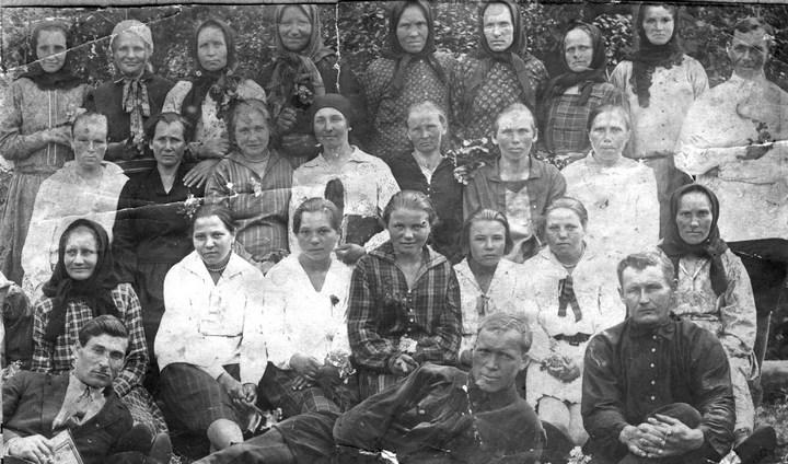 Старые ретро фотографии России, фото русских деревень и крестьян (29)