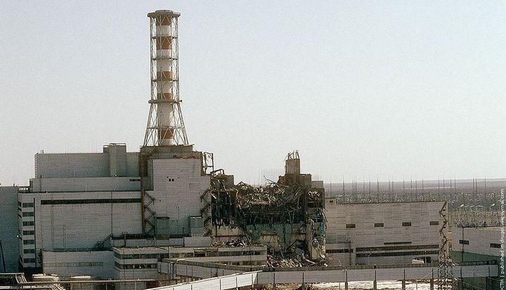 Фото Чернобыля сверху (29)