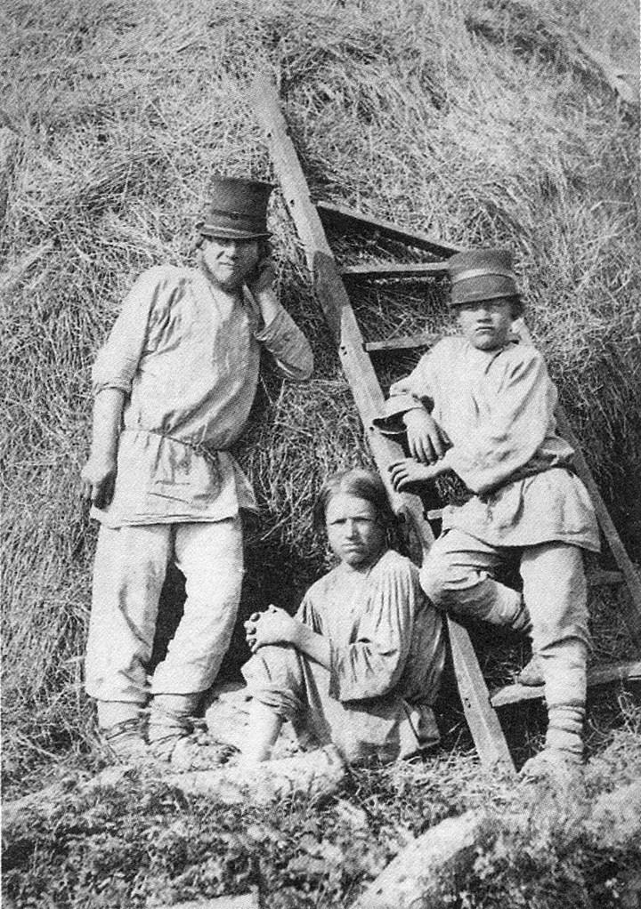 Старые ретро фотографии России, фото русских деревень и крестьян (34)
