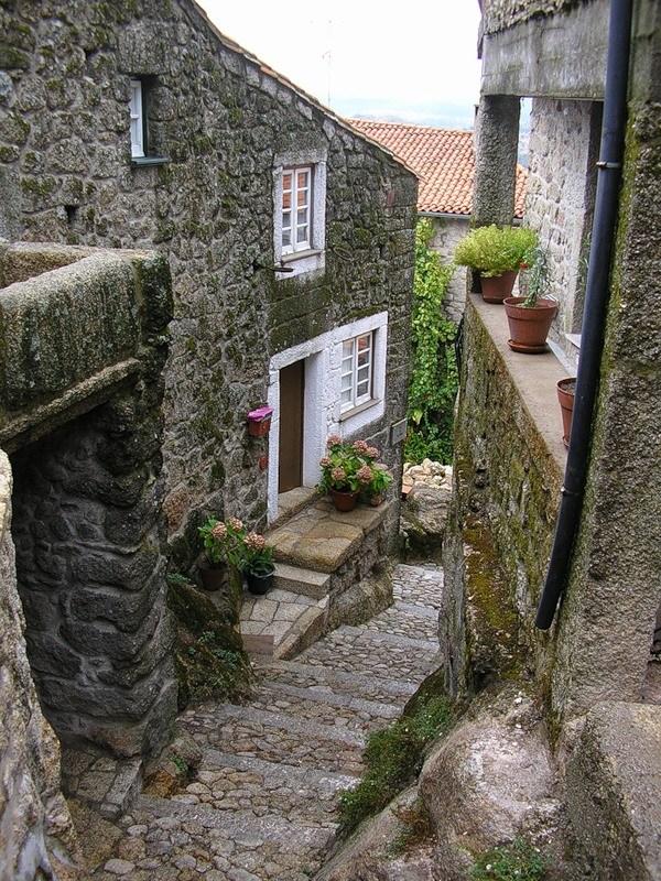 Монсанто - каменная деревня в Португалии (21)