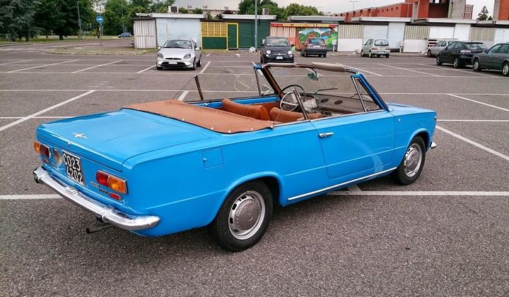 Уникальный Fiat 124-С4 кабриолет, ВАЗ 2101 кабриолет. как сделать (3)