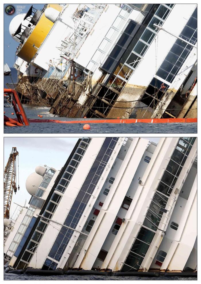 Операция по подъему лайнера Costa Concordia (33)