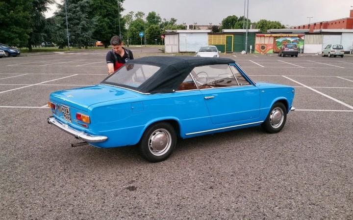 Уникальный Fiat 124-С4 кабриолет, ВАЗ 2101 кабриолет. как сделать (4)