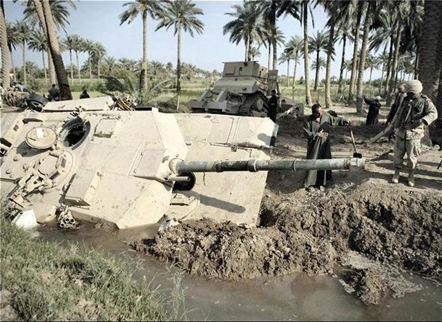 Как застревают танки. Застрявшие танки, фото и видео (1)