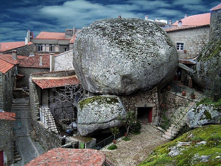 Монсанто - каменная деревня в Португалии (16)