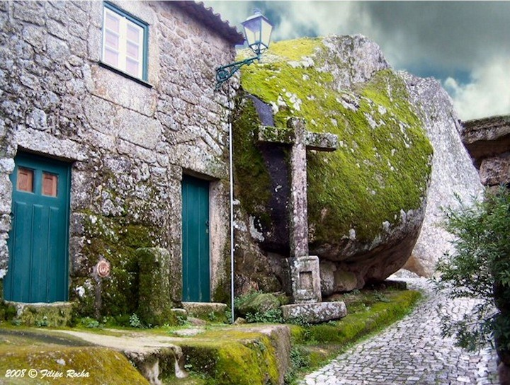 Монсанто - каменная деревня в Португалии (15)