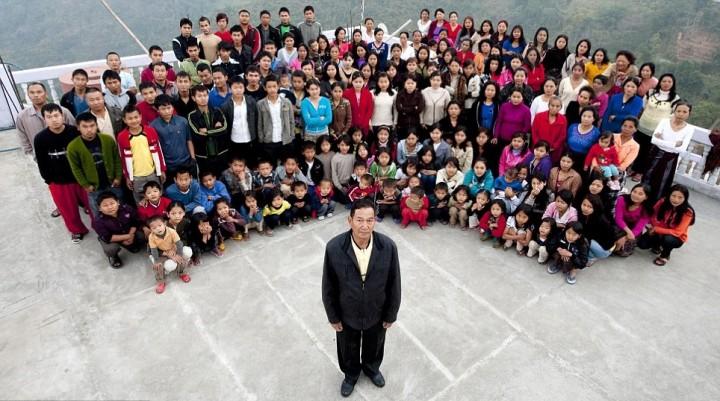 Книга рекордов Гиннеса. Самая большая семья в мире (1)