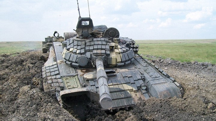 Как застревают танки. Застрявшие танки, фото и видео (4)