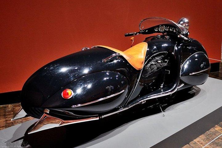"Красивый винтажный мотоцикл ""Henderson 1930"", необычный дизайн ретро мотоцикла (7)"