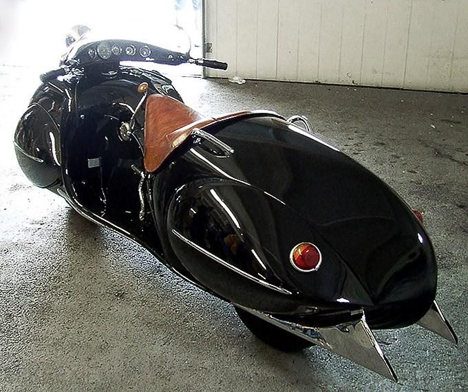 "Красивый винтажный мотоцикл ""Henderson 1930"", необычный дизайн ретро мотоцикла (4)"