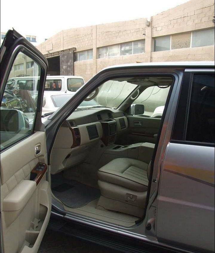 Машина с рулем на заднем сиденье (6)