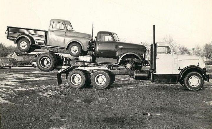 Фото старых американских грузовиков (12)