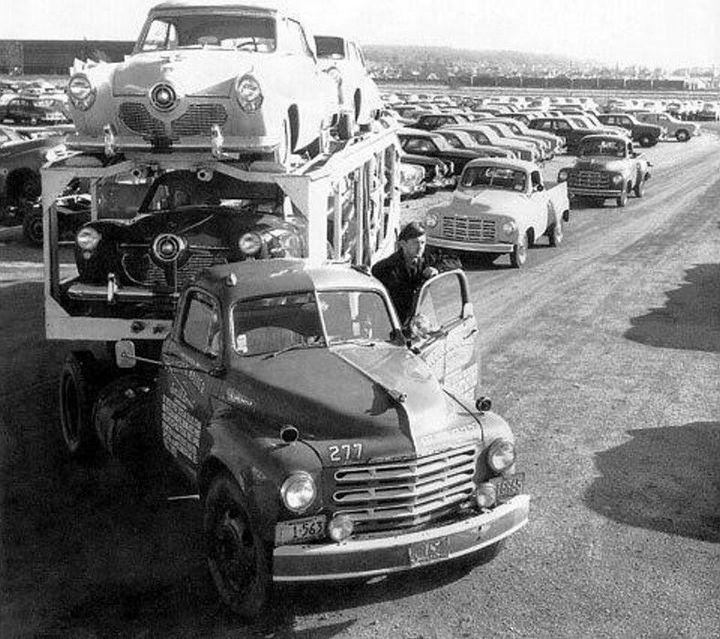 Фото старых американских грузовиков (11)