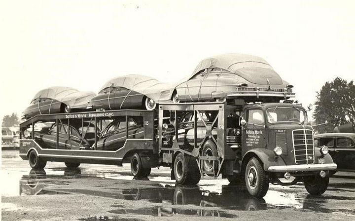 Фото старых американских грузовиков (5)
