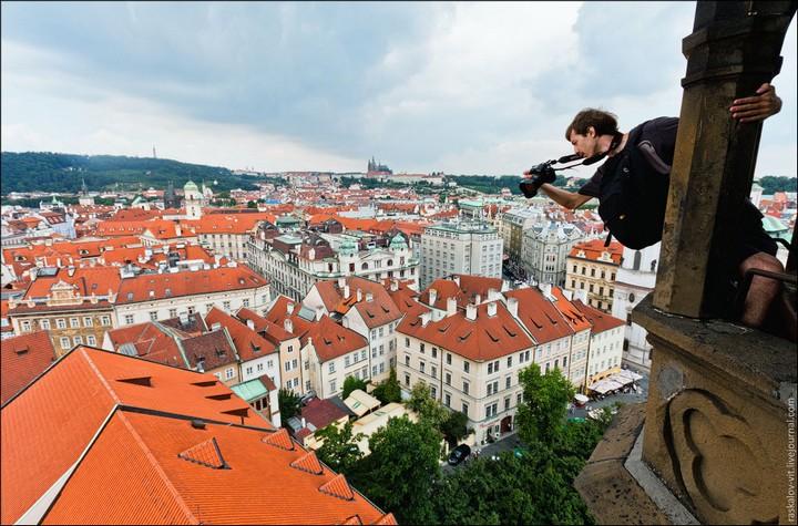 Руферы, как залезть на высокое здание в Европе (16)