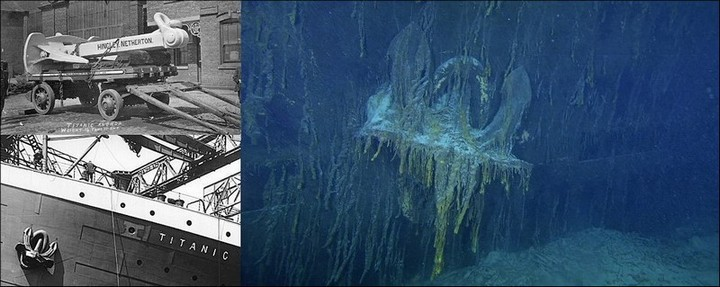 "Фотографии затонувшего ""Титаника"", фото на дне, до и после (19)"
