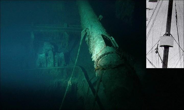 "Фотографии затонувшего ""Титаника"", фото на дне, до и после (23)"