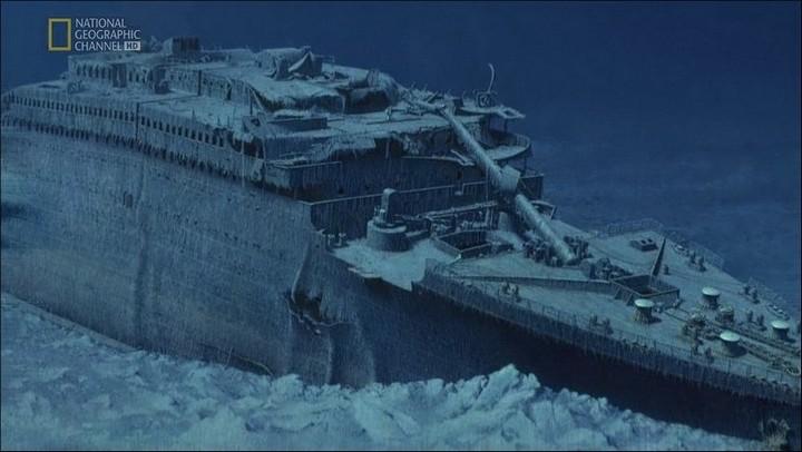 "Фотографии затонувшего ""Титаника"", фото на дне, до и после (29)"