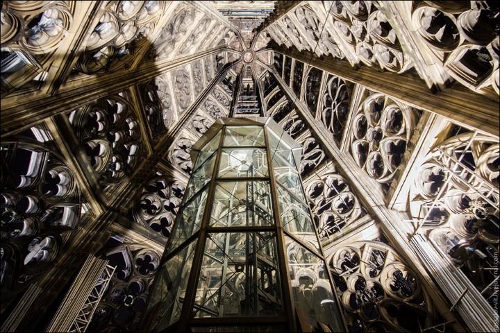 Руферы, как залезть на высокое здание в Европе (33)