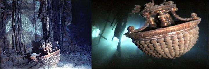 "Фотографии затонувшего ""Титаника"", фото на дне, до и после (34)"