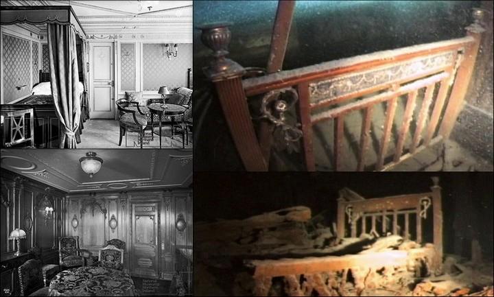 "Фотографии затонувшего ""Титаника"", фото на дне, до и после (36)"