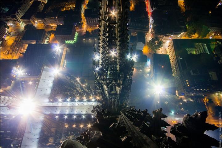Руферы, как залезть на высокое здание в Европе (37)