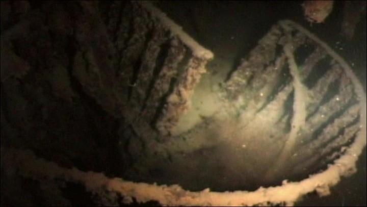 "Фотографии затонувшего ""Титаника"", фото на дне, до и после (40)"
