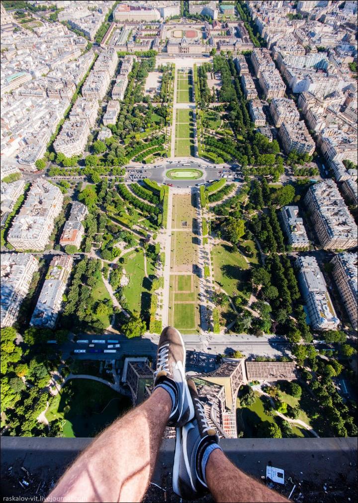 Руферы, как залезть на высокое здание в Европе (45)