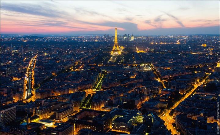 Руферы, как залезть на высокое здание в Европе (49)