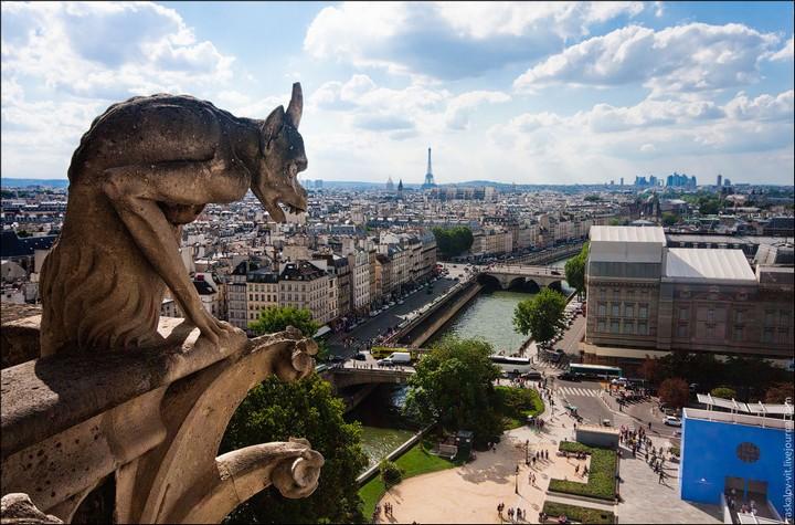 Руферы, как залезть на высокое здание в Европе (54)
