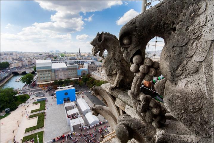 Руферы, как залезть на высокое здание в Европе (55)