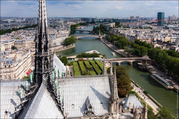 Руферы, как залезть на высокое здание в Европе (56)