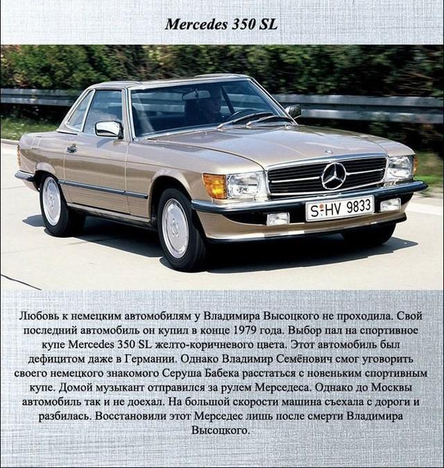 Какими автомобилями владел Владимир Высоцкий (6)