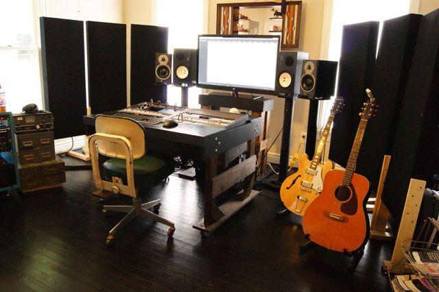 Фото домашних студий звукозаписи с профессиональной аппаратурой (23)